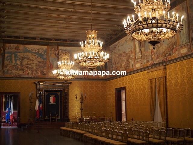 ヴァレッタ、騎士団長の宮殿、玉座の間