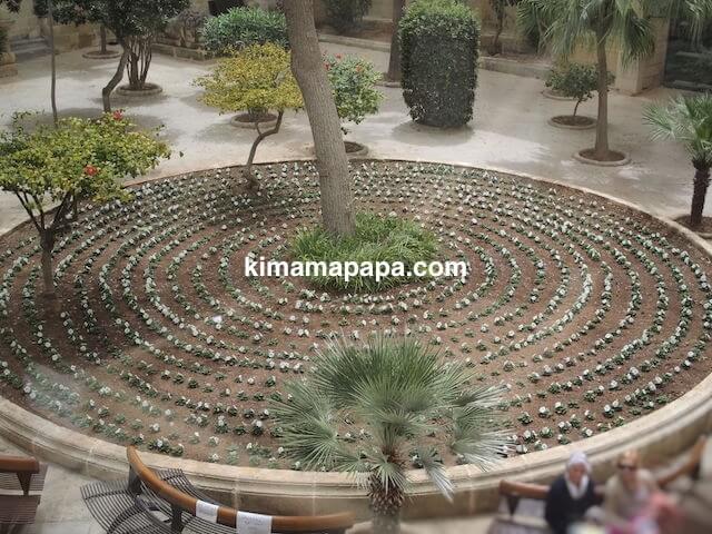 ヴァレッタ、アルフレッド王子の中庭