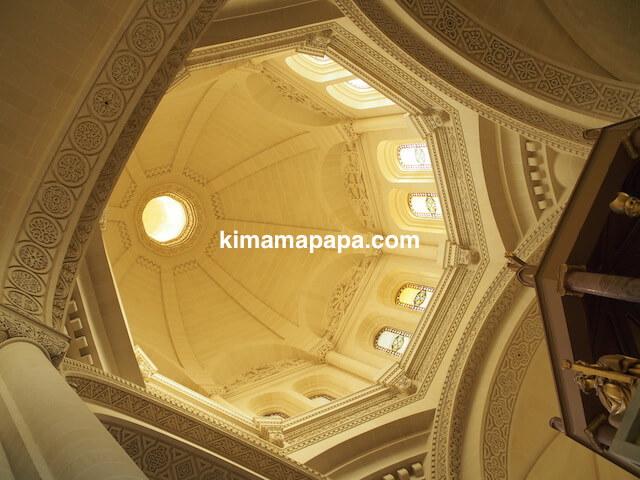 ゴゾ島、タ・ピーヌ教会のドーム