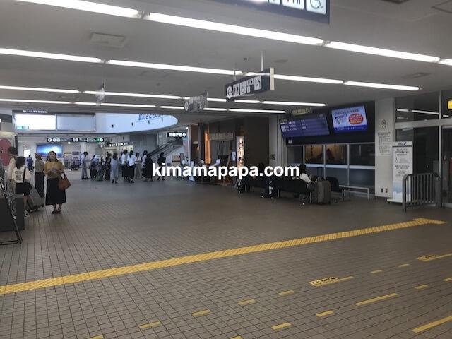 富山空港、到着ロビー