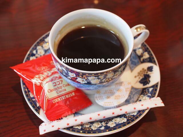 氷見、川村食堂のコーヒー