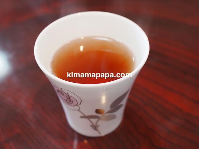 氷見、川村食堂のお茶