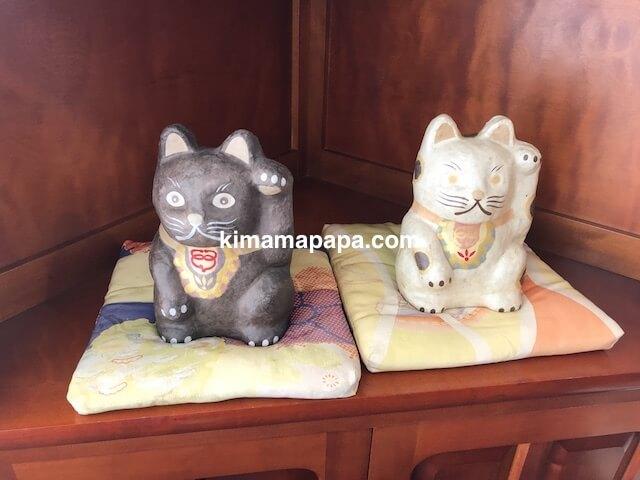 ますのすしミュージアム、さくら亭の招き猫