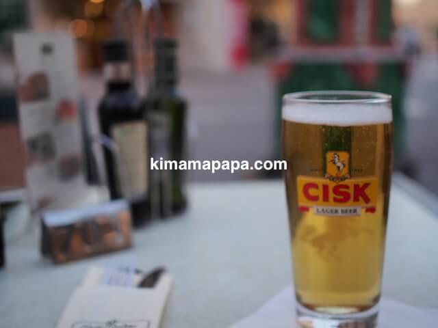 ヴァレッタ、カフェ・コルドナのチスクビール
