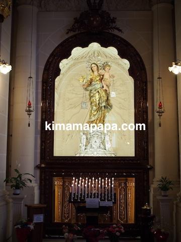 ヴァレッタ、マウント・カーメル大聖堂の聖母マリア
