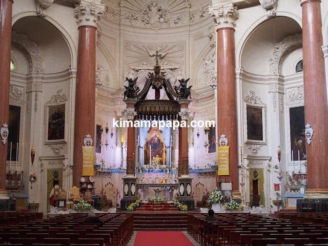 ヴァレッタ、マウント・カーメル大聖堂の主祭壇