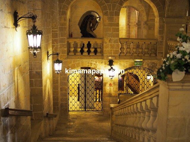 ヴァレッタ、ホスピタル騎士団の入り口