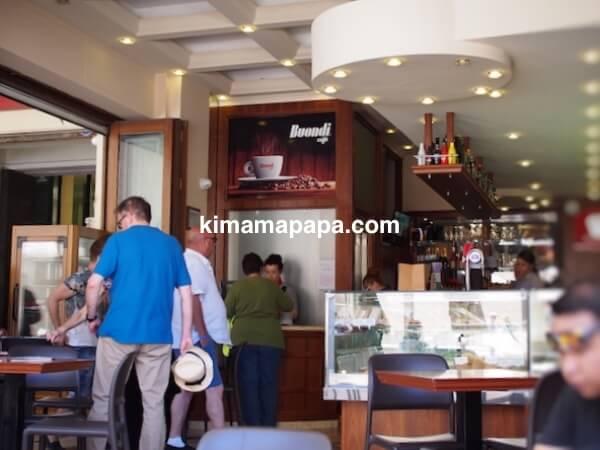 ヴァレッタ、アカデミア・カフェの店内