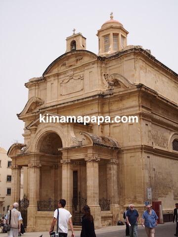 ヴァレッタのカトリック教会