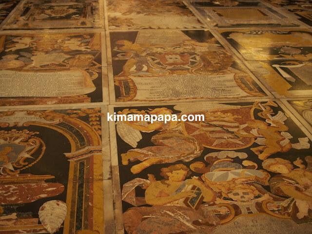 ヴァレッタ、聖ヨハネ大聖堂の墓標