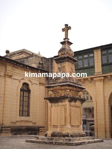 ヴァレッタ、聖ヨハネ大聖堂の出口