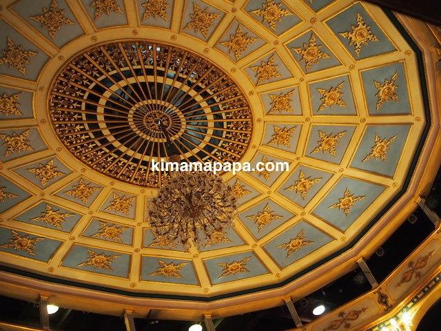 ヴァレッタ、マノエル劇場の天井
