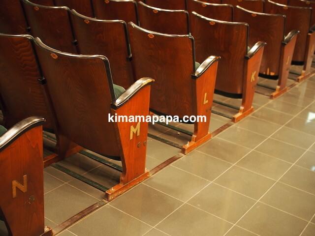 ヴァレッタ、マノエル劇場の座席