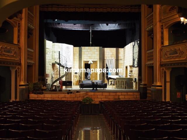 ヴァレッタ、マノエル劇場のステージ